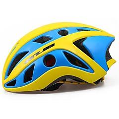 Esportivo Unisexo Moto Capacete 22 Aberturas Ciclismo Ciclismo PC EPS Amarelo