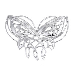 Women's Brooches Jewelry Unique Design Logo Style Multi-ways Wear Euramerican Vintage Alloy Animal Shape Jewelry For Special Occasion