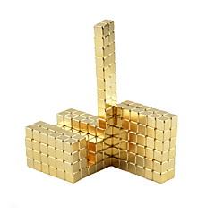 Jouets Aimantés Cubes magiques Aimant Néodyme Anti-Stress 64 Pièces 5mm Jouets Magnétique Carré Cadeau