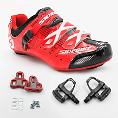 BOODUN/SIDEBIKE® Sneakers Road Bike Shoes Cycling Shoes With Pedal & Cleat Unisex Cushioning Road Bike Outdoor Cycling