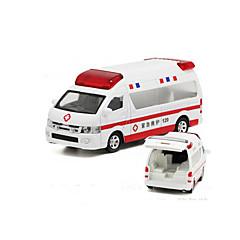 Veículos de Metal Carrinhos de Fricção Carros de brinquedo Carro de Polícia Ambulância Brinquedos Carro Liga de Metal 1 Peças Crianças Dom