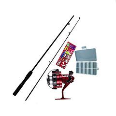 Perhokalastusvapa Teleskooppivapa Iso Rod Kalastusvapa Surffivapa FRP 165 cm Merikalastus Perhokalastus Jäällä kalastus 2 Osat Vavat +