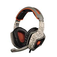 billiga Headsets och hörlurar-SA-917 Över örat / Headband Kabel Hörlurar Dynamisk Plast Mobiltelefon Hörlur mikrofon / Med volymkontroll headset