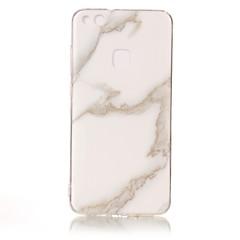 billige Telefoner og nettbrett-Etui Til Huawei IMD Bakdeksel Marmor Myk TPU til P10 Lite P10 P8 Lite (2017) Honor 8 Nova Huawei