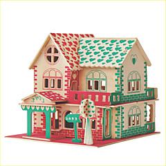 baratos -Kit Faça Você Mesmo Quebra-Cabeças 3D Quebra-Cabeça Brinquedos de Lógica & Quebra-Cabeças Brinquedos Quadrada Construções Famosas