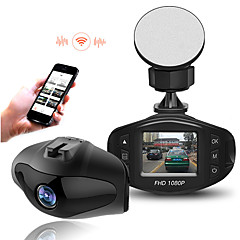 1080p wifi auto dvr camera Novatek 96.658 sony 323 lens hd video registrator mini-auto camera recorder dash cam g-sensor WDR