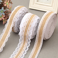 cheap Wedding Ribbons-Creative Ribbon Jute Wedding Ribbons - 1 Piece/Set Weaving Ribbon Unique Wedding Décor Decorate favor holder Decorate gift box Decorate