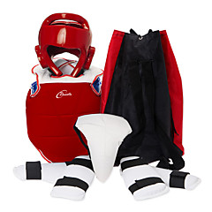 billige Boksing og kampsport-Fôrede støtter / Armvern / Susp til Taekwondo / Boksing / karate Profesjonell / Justerbar / Pustende Trening / Atletisk PU Leather / EVA 1set Rød / Blå