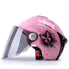 하프헬맷 안티 UV 통풍 오토바이 헬멧