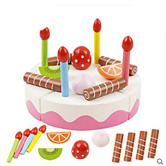 Hrajeme si na... Toy kuchyňských sestav Hračky Kulatý Zelenina Friut Udělej si sám Dětské Pieces