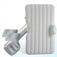 billige Setetrekk til bilen-Bilmadrass luftmadrass dobbel (135 * 80 * 40cm) flocking sikkerhetsfender med luftpumpe vaskbar