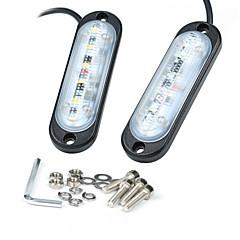 저렴한 -kawell 보편적 인 3.8 인치 슈퍼 얇은 6 주도 라이트 바 atv suv 지프 광산 보트에 대한 worklamp 주도 4x4 포드 f150 (6w dc10 - 30v 6500k 410lm)