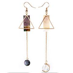 Damen Tropfen-Ohrringe Nicht übereinstimmen Modisch Euramerican Aleación Geometrische Form Dreiecksform Schmuck Für Party Alltag