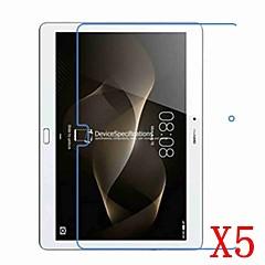 Huawei mediapad için 5 adet m2 10 m2-a01l m2-a01w hd ekran koruyucusu huawei için emniyet filmi mediapad m2 10 m2-a01l m2-a01w