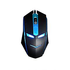 Χαμηλού Κόστους Ποντίκια-Ενσύρματη Gaming Mouse με οπίσθιο φωτισμό 3 Θύρα USB τροφοδοτείται