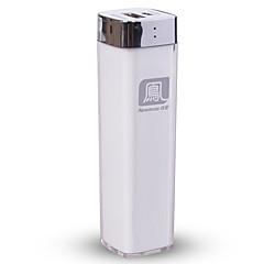 strømbank eksternt batteri 5V 1.0A #A Batterilader med kabel LED