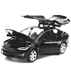 olcso -Játékautók Tehergépkocsi Játékok Zene és fény Sas Autó Fém ötvözet Fém Darabok Uniszex Ajándék