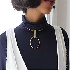 Žene Choker oglice Ogrlice s privjeskom Jewelry Geometric Shape Kamen Jedinstven dizajn Stil višenja Geometrijski Moda Personalized