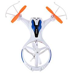 billige Fjernstyrte quadcoptere og multirotorer-RC Drone M71 4 Kanaler 6 Akse 2.4G - Fjernstyrt quadkopter LED-belysning En Tast For Retur Hodeløs Modus Flyvning Med 360 Graders Flipp