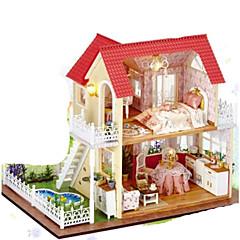 Sada na domácí tvoření Music Box Hračky Obdélníkový Piano Dřevo Pieces Vánoce Narozeniny Dárek