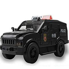 billiga Leksaker och spel-CAIPO Leksaksbilar Leksaker Modellbil Entreprenadmaskiner Polisbil Ambulansbil Leksaker Musik & Ljus Fyrkantig Metallegering Plast Bitar