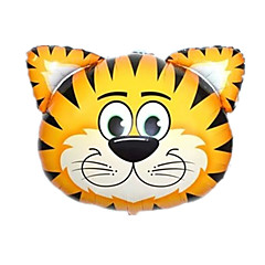 Balónky Nafukovací bazén Float Hračky Tiger Zvíře Zvířata Unisex Pieces