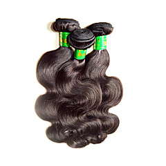 cheap Unprocessed Hair-Human Hair Remy Weaves Body Wave Indian Hair 300 g 1 Year