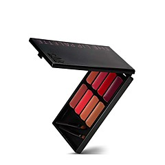 1Pcs 8 Colors Waterproof Sexy Moisturizer Matte Lipstick Palette With Brush Long Lasting Nude Color Red Lip Gloss Sets Lipkits