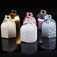 25Pcs Flying Butterfly Candy Boxe Party Favors Box Wedding Supplies