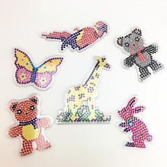 Sets zum Selbermachen Bildungsspielsachen Holzpuzzle Kunst & Malspielzeug Spielzeuge Rabbit Vogel Bär Hirsch Schmetterling EVA Stücke