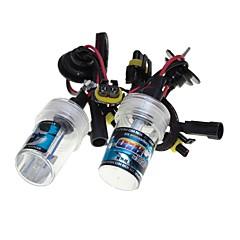 Sencart araba sakla xenon lambalar ampuller h1 / h3 / h7 / h8 / h9 / h11 / 9005 4300k 6000k 8000k elmas beyaz 55w