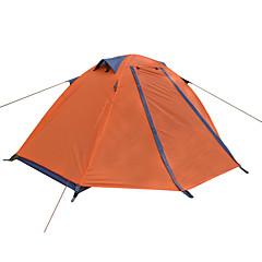 """DesertFox® 1 אדם אוהל כפול קמפינג אוהל חדר אחד אוהל מתקפל עמיד למים מוגן מגשם קל במיוחד(UL) ל קמפינג 2000-3000 מ""""מ אוקספורד CM"""