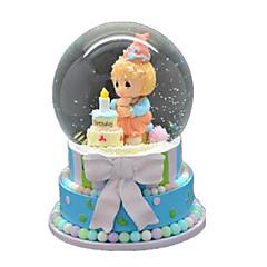 Bolas Caixa de música Brinquedos Esfera Pato Resina Peças Unisexo Aniversário Dom
