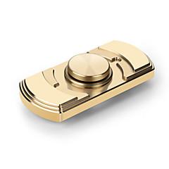 Fidget spinners hand Spinner Hračky Dvě Spinner Keramika Mosiądz Keramika Měď EDCZbavuje ADD, ADHD, úzkost, autismus k zabíjení času