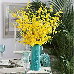 billige Kunstige blomster-Kunstige blomster 1 Gren Europeisk Stil Soleie Bordblomst