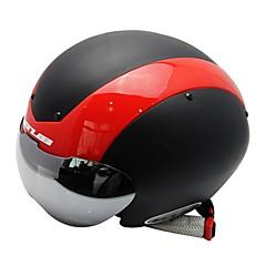 Bike Helmet Certification Cycling 13 Vents Impact resistant Detachable One Piece Helmet with Googles Protective Gear Unisex PC EPS