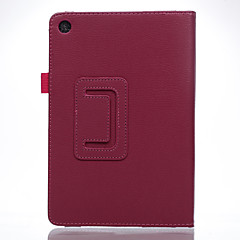 billige Nettbrettetuier-Etui Til Asus Heldekkende etui Tablet Cases Helfarge Hard PU Leather til