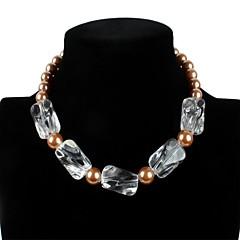 Women's Strands Necklaces Pearl Acrylic Movie Jewelry Euramerican Fashion Personalized Luxury Statement Jewelry Classic Jewelry For
