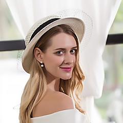 バスケットの紙のネットの帽子のヘッドピース古典的な女性のスタイル