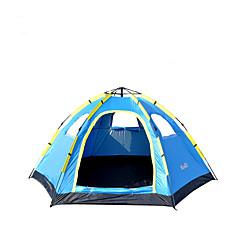 billige Telt og ly-5-8 personer Telt Enkelt camping Tent Ett Rom Automatisk Telt Fukt-sikker Vanntett Regn-sikker Pusteevne til Vandring Camping Reise