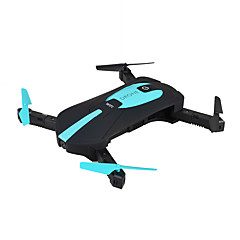 billige Fjernstyrte quadcoptere og multirotorer-RC Drone JY JY018W 4 Kanaler 6 Akse 2.4G Med HD-kamera Fjernstyrt quadkopter FPV / LED Lys / En Tast For Retur Fjernstyrt Quadkopter / 1