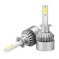 cheap Car Headlights-2pcs H1 Car Light Bulbs 36W W COB 3600lm lm Headlamp