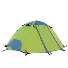 "DesertFox® 2 אנשים אוהל כפול קמפינג אוהל חדר אחד אוהל מתקפל עמיד למים מוגן מגשם ל קמפינג 2000-3000 מ""מ אוקספורד CM"