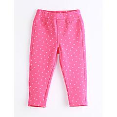 billige Bukser og leggings til piger-Baby Pige Prikker Bomuld Bukser