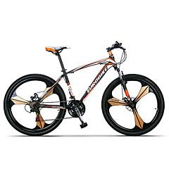 billige Sykler-Fjellsykkel Sykling 27 Trinn 26 tommer (ca. 66cm)/700CC SHIMANO TX30 Dobbel skivebremse Dempegaffel Ikke dempende Vanlig Stål