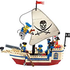 baratos -ENLIGHTEN Blocos de Construir / Brinquedos de Montar 188 pcs Pirata Navio / Piratas Dom
