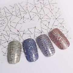 baratos -12 Adesivos para Manicure Artística Transferência de água adesivo maquiagem Cosméticos Designs para Manicure