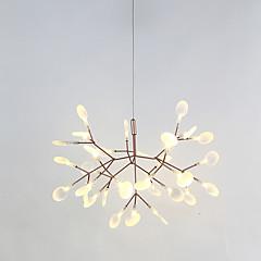 Sputnik Lustres Luz Ambiente Acabamentos Pintados Metal LED 110-120V / 220-240V Branco Quente Fonte de luz LED incluída / Led Integrado