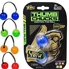 tanie Jojo-Jojo Piłeczki Finger Yo yo Gadżety antystresowe Zabawki Owalne Stres i niepokój Relief Zabawa Plastikowy Dla dzieci Dla dziewczynek Dla