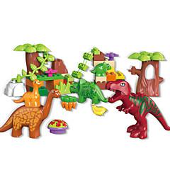 אבני בניין צעצוע חינוכי צעצועים דינוזאור חיות בגדי ריקוד ילדים חתיכות